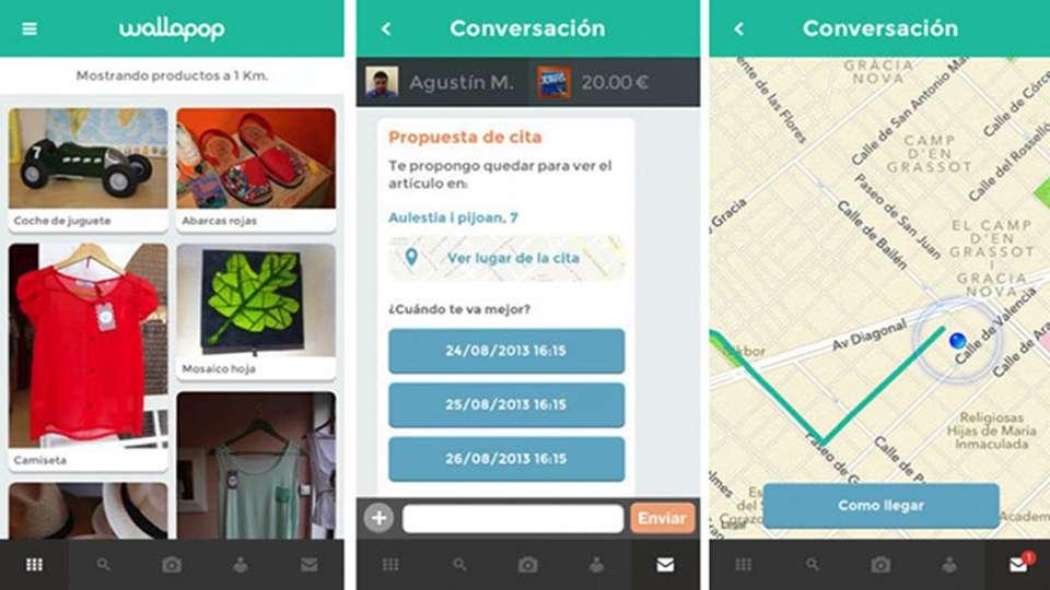 Wallapop es una aplicación de compraventa de productos de segunda mano