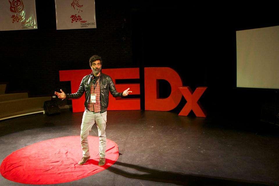Diego en TEDx