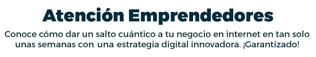 Estrategia Digital para Emprendedores