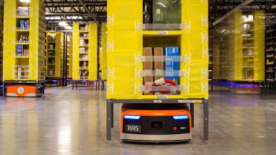 Robot Kiva de Amazon
