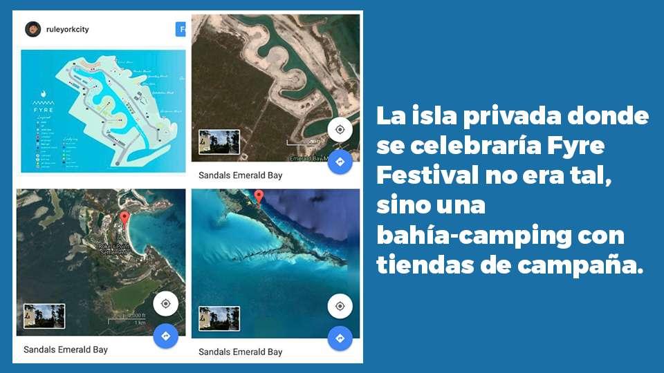 La isla privada donde se celebraría Fyre Festival no era tal