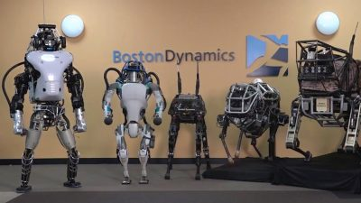 Robots de Boston Dynamics