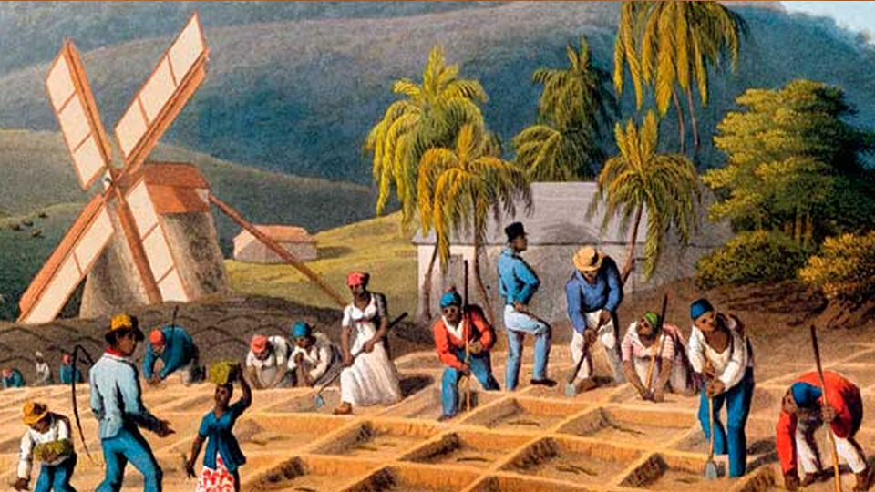 La aparcería - el dueño alquilaba tierras a agricultores a cambio de un porcentaje de la producción de la finca