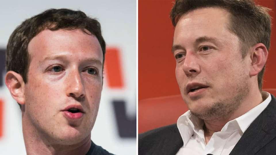 Mark Zuckerberg y Elon Musk tienen opiniones opuestas sobre la inteligencia artificial