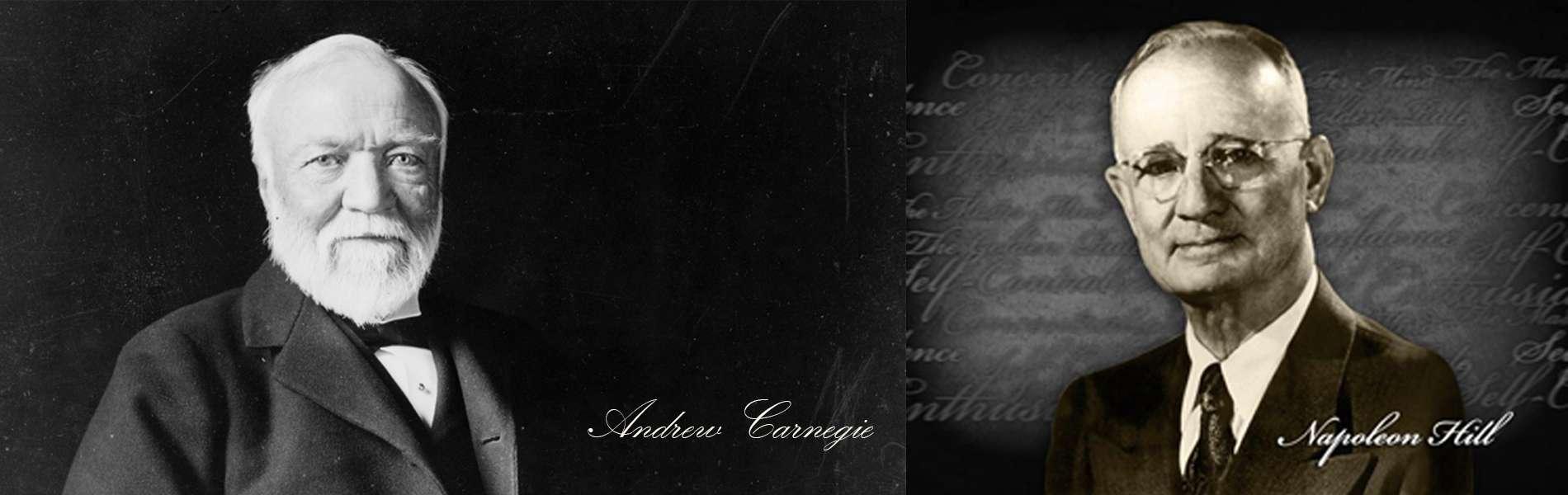 Andrew Carnegie y Napoleón Hill