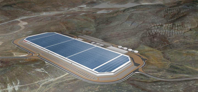 El proyecto de la Gigafactory de Tesla