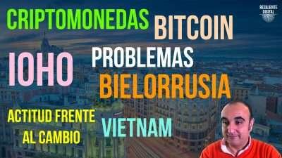 Energía y Bitcoin, Obsolescencia Humana, Bielorrusia y Vietnam