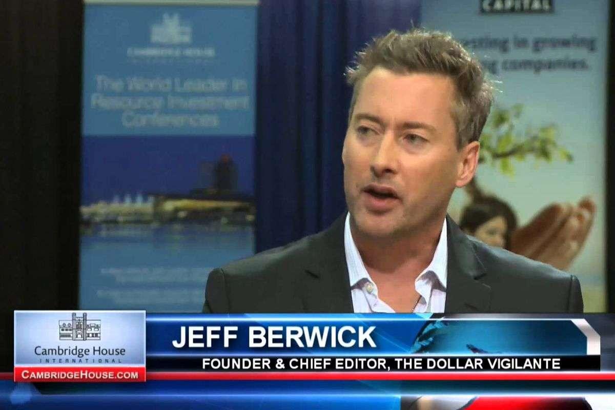 Jeff Berwick, Fundador y Editor Jefe de The Dollar Vigilante