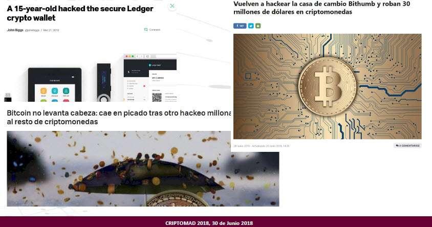 Más fallos de Seguridad con Criptomonedas