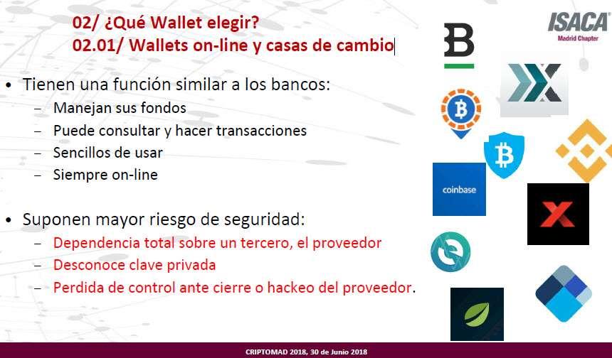 wallets online y casas de cambio
