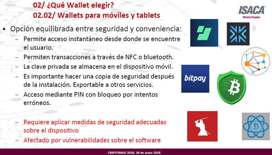 wallets para móviles y tablets